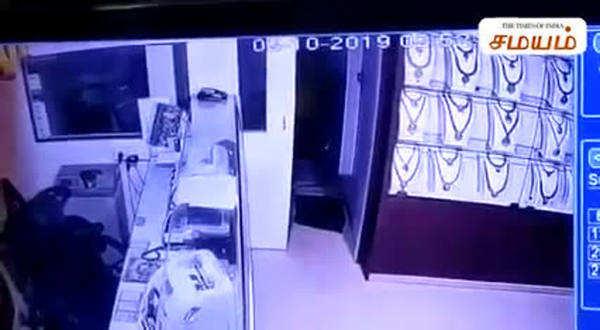 lalitha jewellery gang robbery manikandan arrested video
