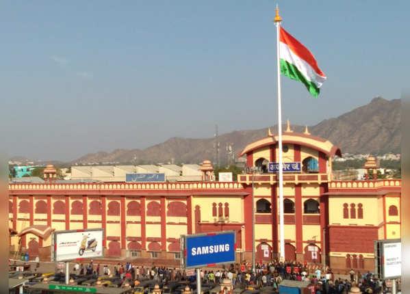 अजमेर रेलवे स्टेशन, राजस्थान
