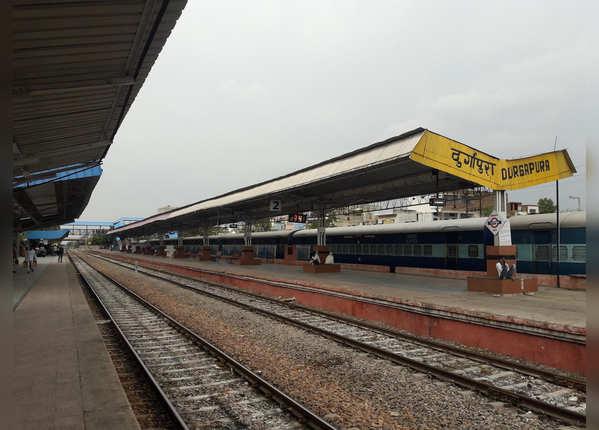 दुर्गापूरा रेलवे स्टेशन, राजस्थान