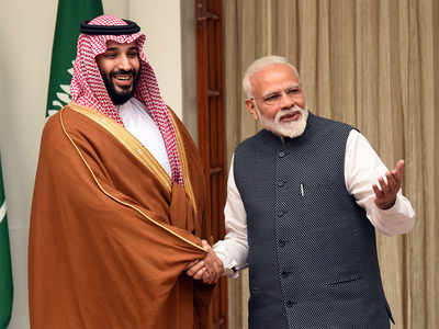 पीएम मोदी और सऊदी प्रिंस मोहम्मद बिन सलमान। (फाइल फोटो)