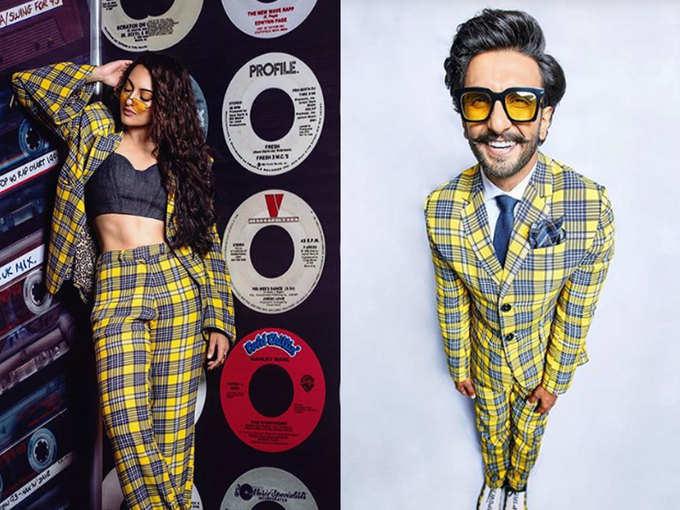 सोनाक्षी सिन्हा और रणवीर सिंह ने पहने एक जैसे कपड़े, किसका लुक बेहतर?
