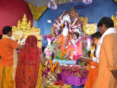 अयोध्या में दुर्गा पूजा के लिए कड़े सुरक्षा इंतजाम
