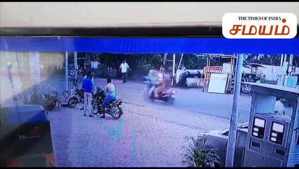 police chasing lalitha jewellery case manikandan cctv footage