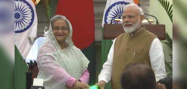 पीएम मोदी और शेख हसीना की मुलाकात के बाद भारत-बांग्लादेश में 7 समझौतों पर दस्तखत