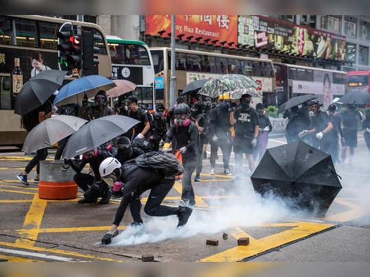 हाँगकाँगमध्ये पुन्हा आंदोलन