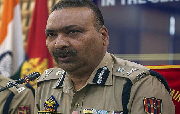 जम्मू कश्मीर में फिलहाल 200-300 आतंकी सक्रीय: डीजीपी