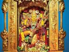 tenth day of navarathri festival goddess kanaka durga worshiped as sri rajarajeswari devi