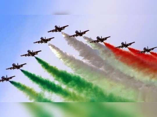 on 87th air force day balakot warrior abhinandan leads mig-21 bison formation