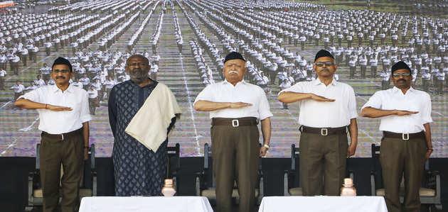 लिंचिंग को भारत को बदनाम करने के लिये इस्तेमाल न करें: आरएसएस प्रमुख