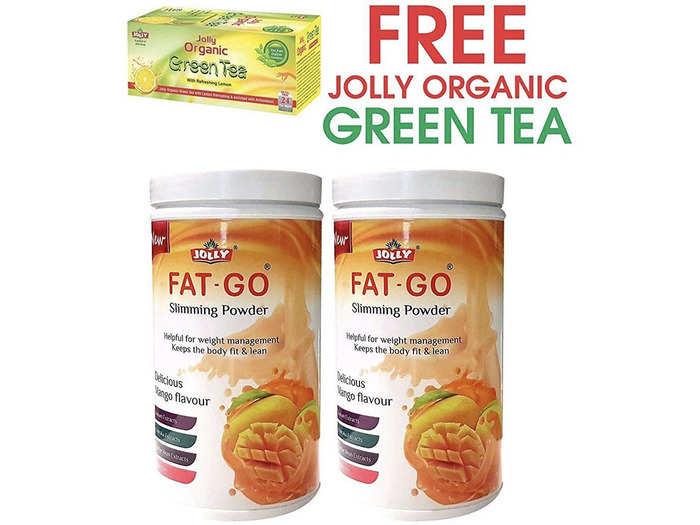Jolly Fat Go Slimming Powder - Mango Flavor