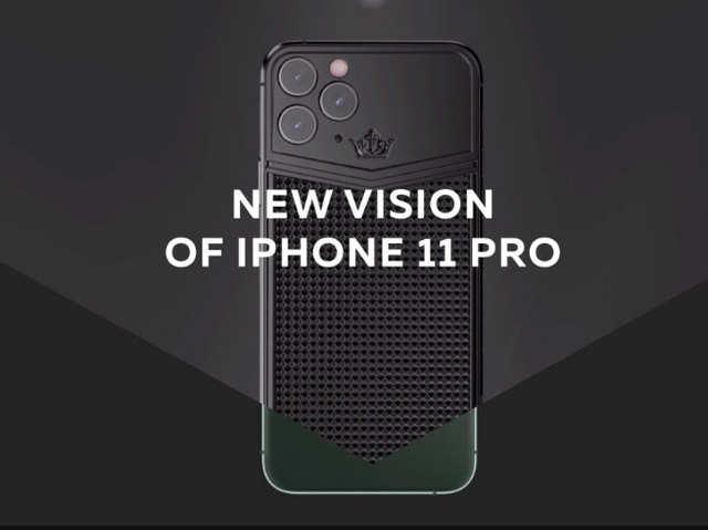 कैवियार लाया सोने से बना और हीरे जड़ा iPhone 11 Pro, चौकोर कैमरा सेटअप की छुट्टी