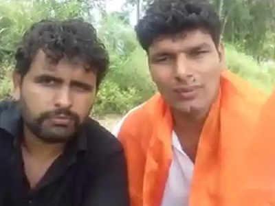 खालिद पर हमले के आरोपी दरवेश शाहपुर और नवीन दलाल (फाइल फोटो)