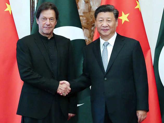 चीनी राष्ट्रपति के साथ पाक पीएम इमरान खान