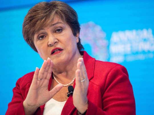 आईएमएफ प्रमुख क्रिस्टालिना जॉर्जिएवा