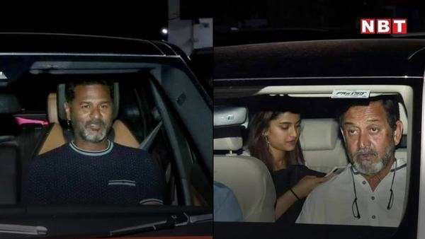 dabangg 3 wrap up party hosted by salman khan at his residence