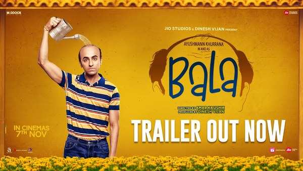 bollywood actor ayushmann khurrana starrer bala trailer released