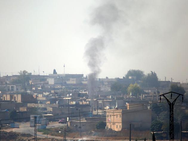 सीरिया में तुर्की का हवाई हमला शुरू
