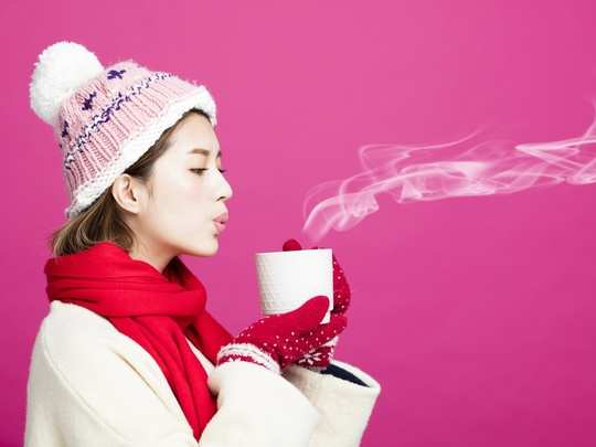 tea drink blow
