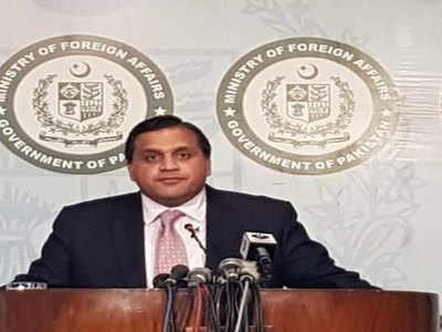 पाकिस्तानी विदेश मंत्रालय रे प्रवक्ता डॉ. मोहम्मद फैसल (फाइल फोटो)