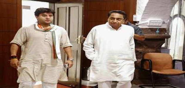 मध्य प्रदेश कांग्रेस में गुटबाजी, किसानों की कर्जमाफी पर सिंधिया ने उठाए सवाल