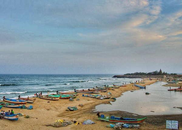 महाबलीपुरम का समुद्र तट