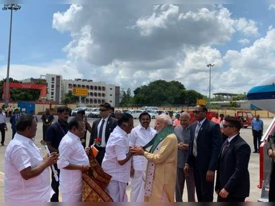 Modi in Chennai