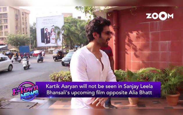 संजय लीला भंसाली की अगली फिल्म में नहीं होंगे कार्तिक आर्यन