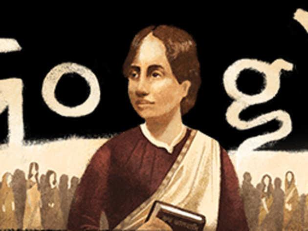 कामिनी रॉय पर गूगल का डूडल
