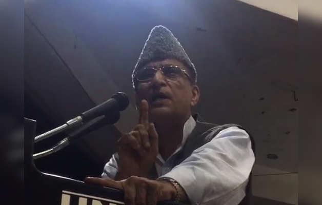 रैली के दौरान भावुक हुए आजम खान