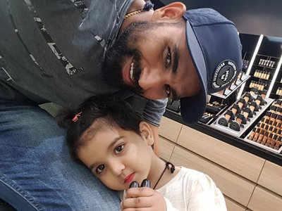 बेटी के साथ शमी। (फाइल फोटो)