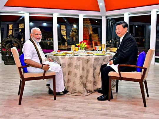modi and Xi jinping meeting