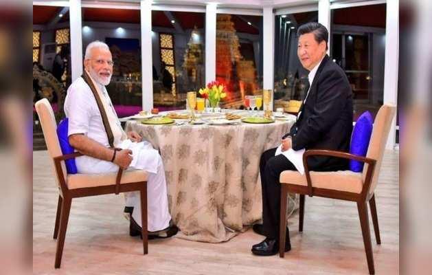 प्रधानमंत्री मोदी और चीनी राष्ट्रपति शी चिनफिंग