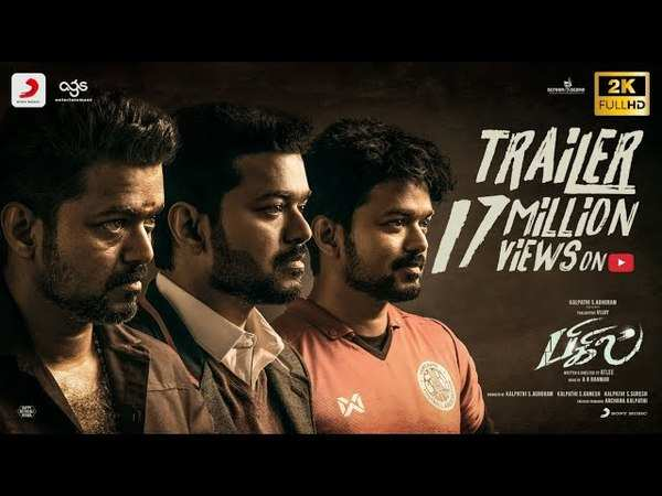 thalapathy vijays bigil movie trailer
