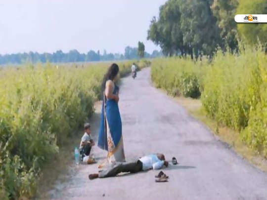 Woman kills her husband on-road