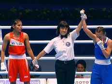 manju rani settles for silver medal in world boxing championships 2019
