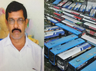telangana srtc bus strike driver who attempted self immolation dies