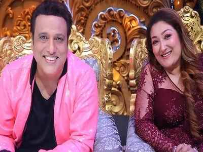 गोविंदा पत्नी सुनिता के साथ