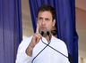 sending a rocket to the moon will not feed youth of the country says rahul gandhi