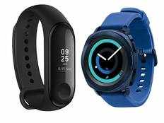 excellent deals on fitness bands and wearble devices in amazon great indian festival sale 2019