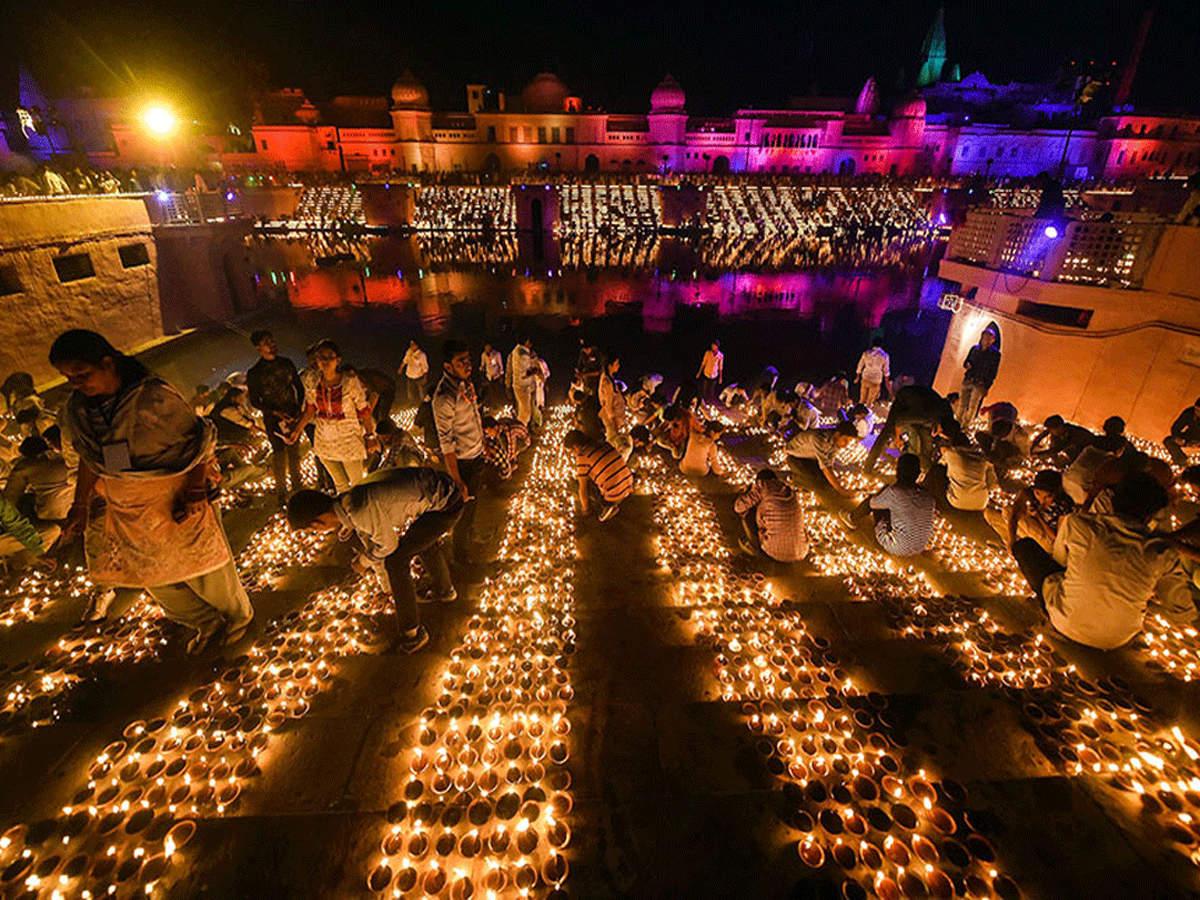 ayodhya deepotsav 2019: इस बार भव्य होगा अयोध्या का 'दीपोत्सव', ना करें मिस  - must visit ayodhya on deepotsav 2019 | Navbharat Times