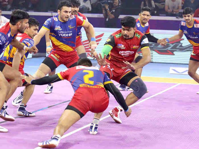bengaluru bulls vs up yoddha eliminator 1 match 2019