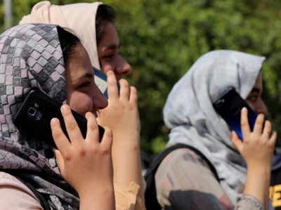 कश्मीर में मोबाइल सर्विस शुरू