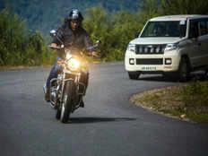 arunchal pradesh chief minister pema khandu rides long trip in royal enfield interceptor 650 bike