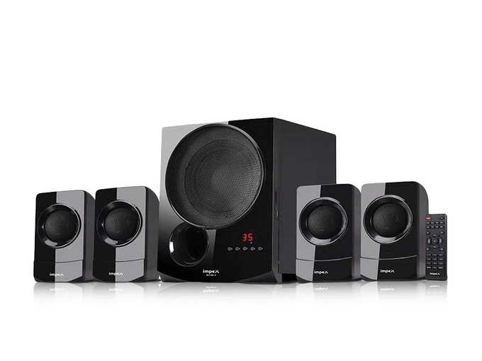 Impex 4.1 Rhyme-4 90 W Multimedia Bluetooth Speaker System Philips home theatre 5.1