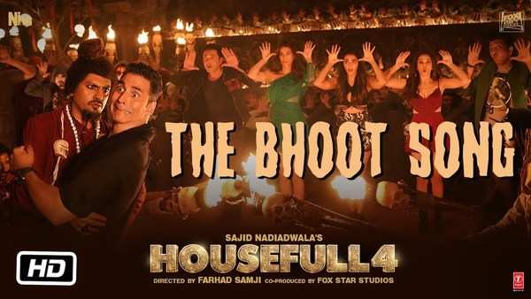 bhoot song from akshay kumar starrer housefull 4
