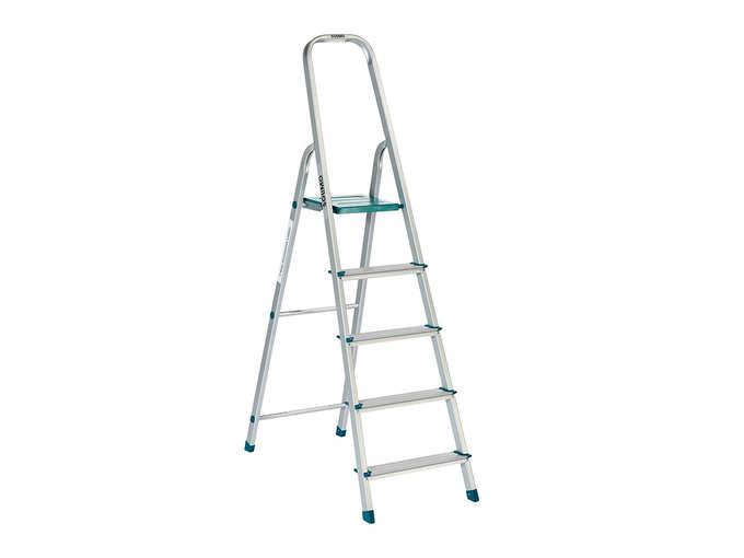 Amazon Brand – Solimo 5-Step Foldable Aluminum Ladder