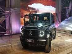 mercedes benz launches g350d suv car in india priced at rs 1 5 crore