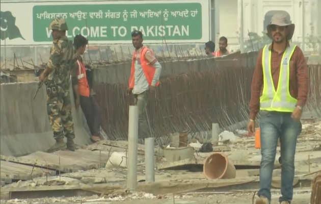 पंजाब में करतारपुर कॉरिडोर के निर्माण का अधिकारियों ने किया निरीक्षण