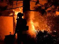 saddleridge fire was one of the 275 wildfires across california
