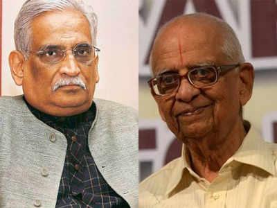 अयोध्या केस में मुस्लिम पक्षकार के वकील राजीव धवन और हिंदू पक्षकार के वकील के. परासरण।